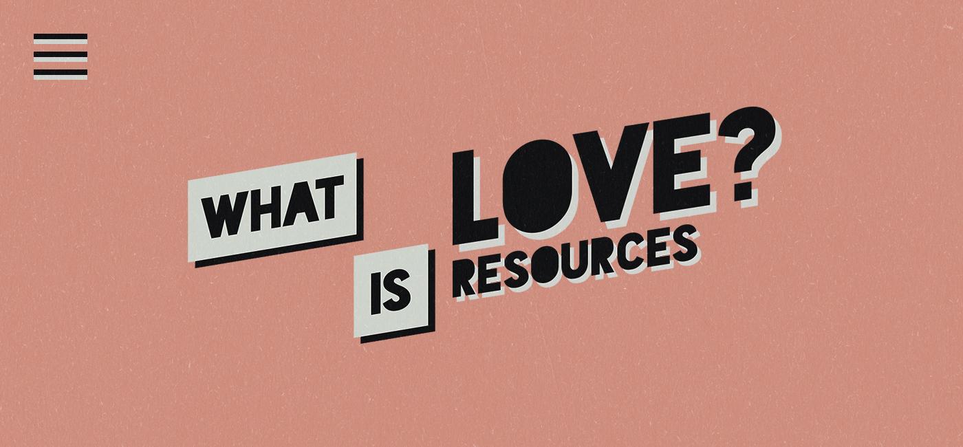 What is love - Website Header
