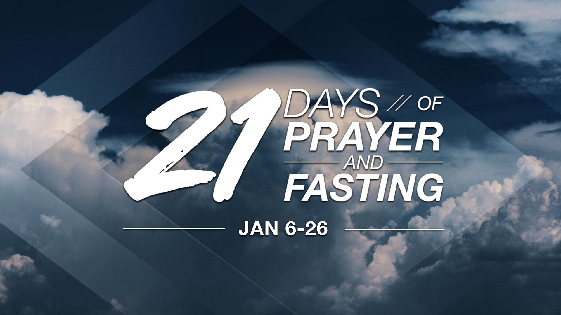 Prayer Cards21 Days of Prayer - Clouds