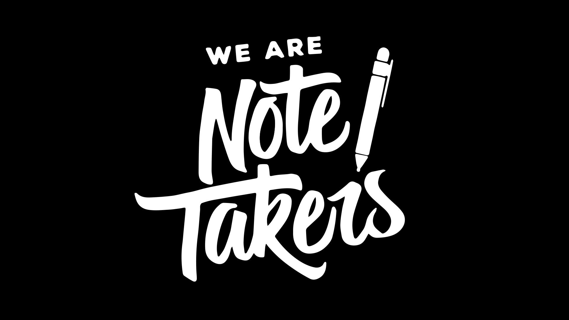 NoteTakersSlide