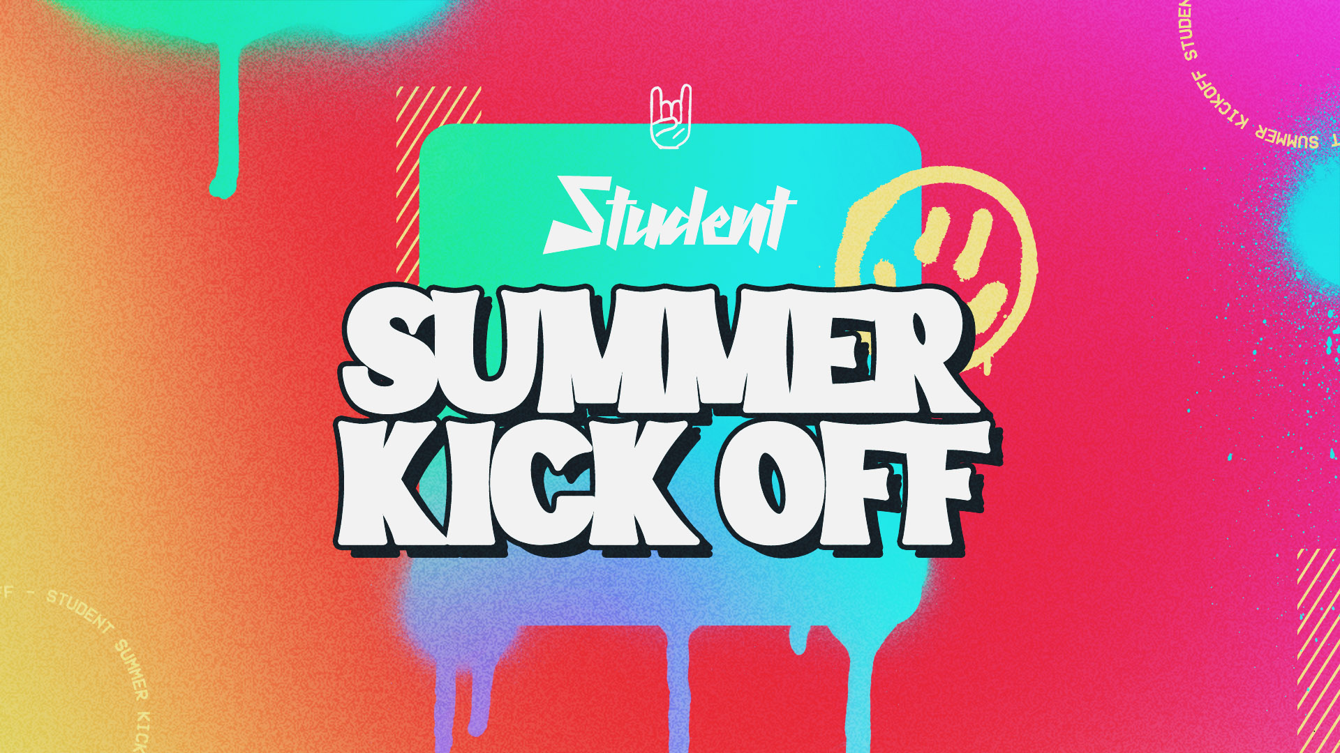 Student Summer Kick Off - 1920x1080