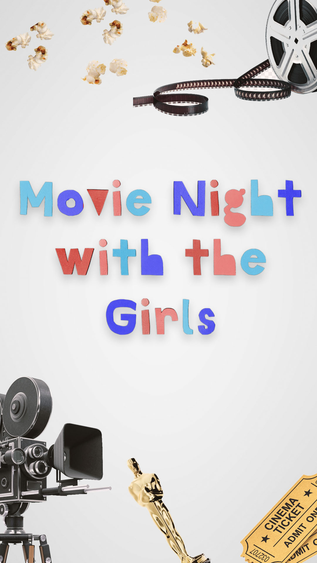 Next Level July 4th Social Media Posts1080x1920 Movie Night